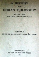 A History Of Indian Philosophy Vol. V