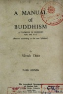 A Manuals of Buddhism