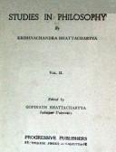 Studies In Philosophy Vol. II