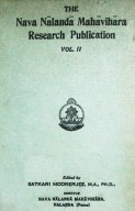 The Nava Nalanda Mahavihara Research Publication Vol. II