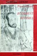 Thirty Years of Buddhist Studies
