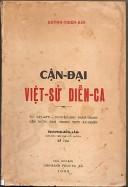 Cận đại Việt sữ Diễn ca