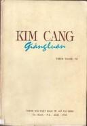 Kim Cang giảng luận