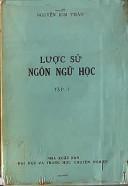 Lược sử ngôn ngữ học Tập I