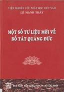 Một số tư liệu mới về Bồ tát Quảng Đức