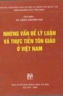 Những vấn đề lí luận và thực tiễn tôn giáo ở Việt Nam
