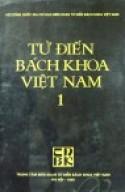 Từ Điển Bách Khoa Việt Nam 1